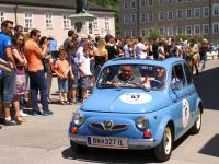 Gaisbergrennen 2016 Mozartplatz